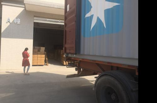 Shipment in Decemb..