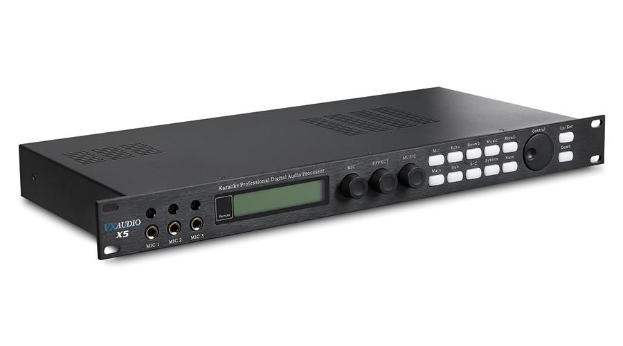 X5 Karaoke Professional Digital Audio Processor